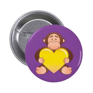 Purple Monty Button