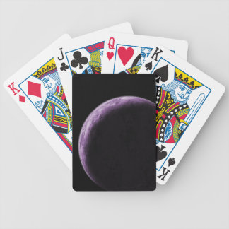 Purple Moon Bicycle Playing Cards