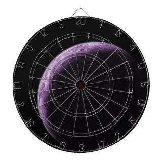 Purple Moon Dartboard