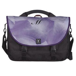 Purple Moon Flower Bags For Laptop