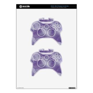 Purple Moon Flower Petals Xbox 360 Controller Skin