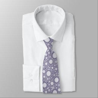 Purple Moon Neck Tie