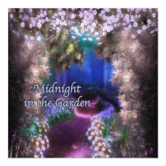 Purple Moonlight Prom Invitations