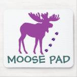 Purple MOOSE Pad Mouse Pad