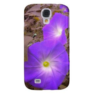 Purple Morning Glories Iphone 3 case