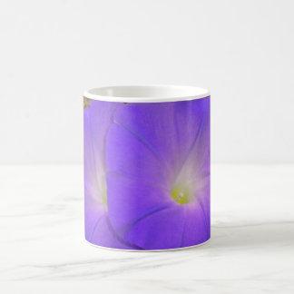 Purple Morning Glory Duo mug
