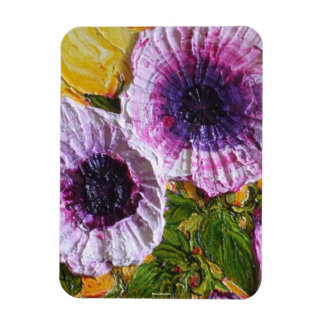 Purple Morning Glory Magnet