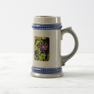 Purple Morning Glory Mugs