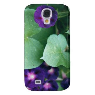 Purple Morning Glory Samsung S4 Case