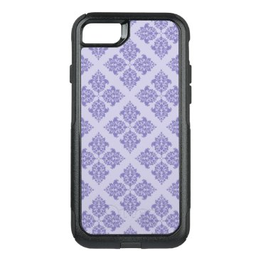 Beach Themed Purple Moroccan Damask OtterBox Commuter iPhone 7 Case