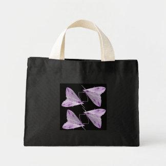 Purple Moth Art Tote Bag