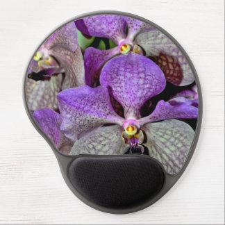 Purple moth orchid flowers gel mousepad