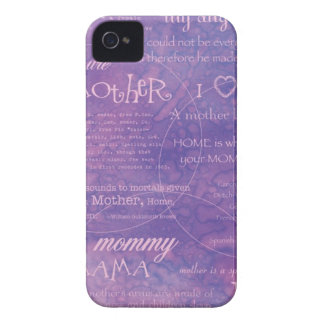 purple mothers day iPhone 4 cover