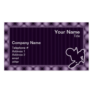 Purple Motocross Whip Double-Sided Standard Business Cards (Pack Of 100)