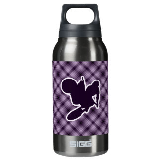 Purple Motocross Whip Insulated Water Bottle