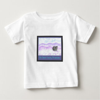 purple mountain bear, the great smoky mountains baby T-Shirt