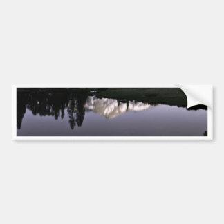 Purple Mountain Bumper Sticker