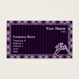 Purple Mountain Climbing Business Card