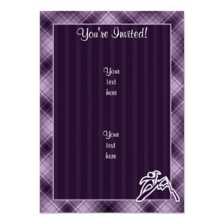 Purple Mountain Climbing Card