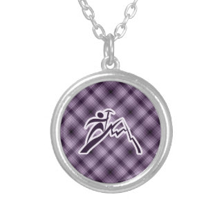 Purple Mountain Climbing Necklace