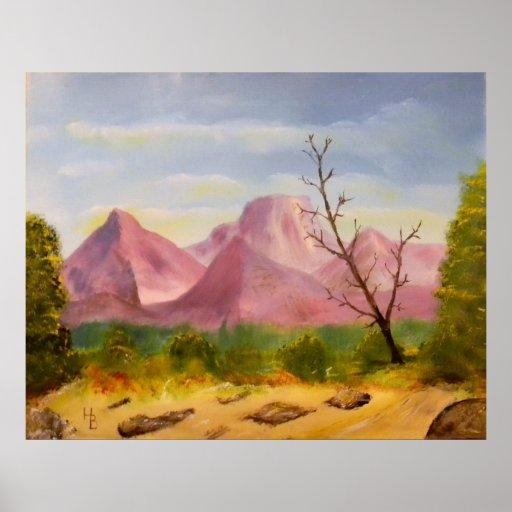Purple Mountain Majesty Posters
