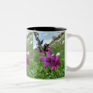 Purple Mountain Wildflower Mug