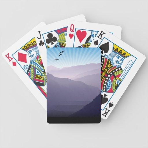 Purple Mountains Card Deck