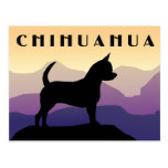 Purple Mountains Chihuahua Postcards