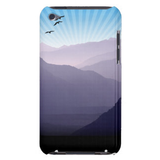 Purple Mountains iPod Case-Mate Cases