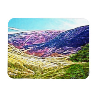 Purple Mountains Magnet