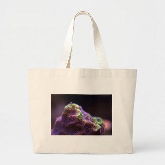 Purple Mountains MajestSea Large Tote Bag