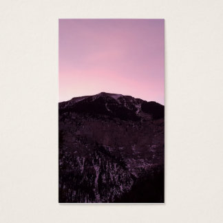 purple mountains majesty memorial funeral card