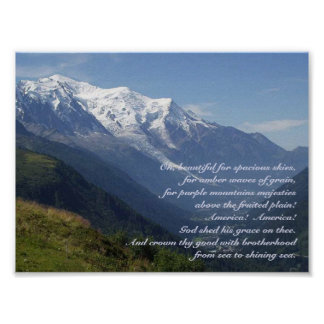 Purple Mountain's Majesty Print