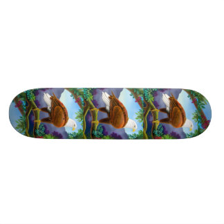 Purple Mountains Majesty Skateboard