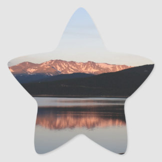 Purple Mountains Majesty Star Sticker