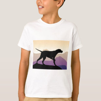Purple Mountains Pointer T-Shirt