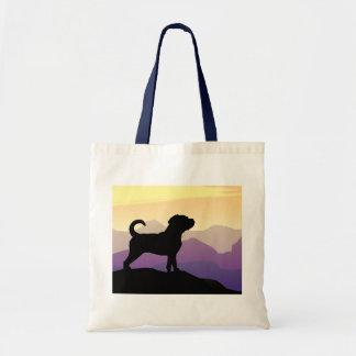 Purple Mountains Puggle Dog Bag