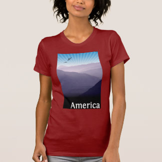 Purple Mountains T Shirt