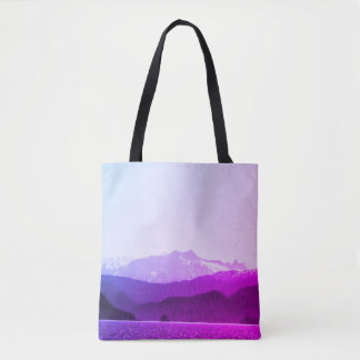 Purple Mountains Tote