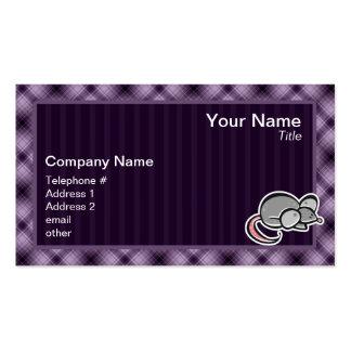 Purple Mouse Business Card