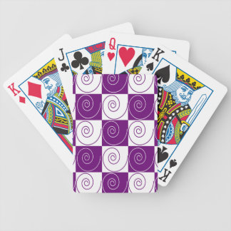 Purple Mousey Tails Bicycle Playing Cards
