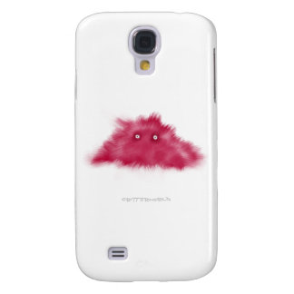 Purple Moustache Critter Samsung Galaxy S4 Covers