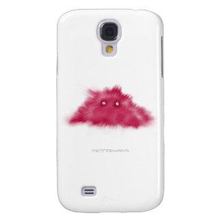 Purple Moustache Critter Samsung Galaxy S4 Case