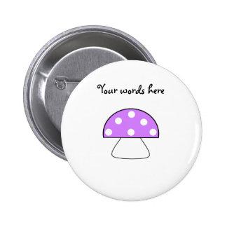 Purple mushroom button