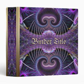 Purple Mushroom Tree Fantasy Album Binder