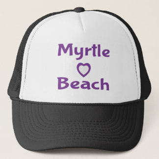 Purple Myrtle Beach South Carolina Baseball Hat