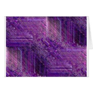 Purple Mystique Greeting Card