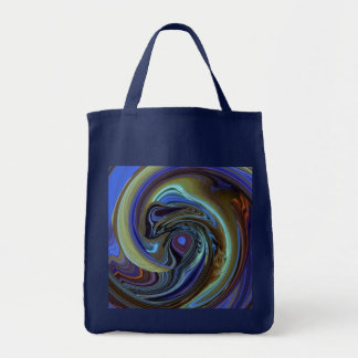 Purple N Gold Dream Catcher Abstract Tote Bag