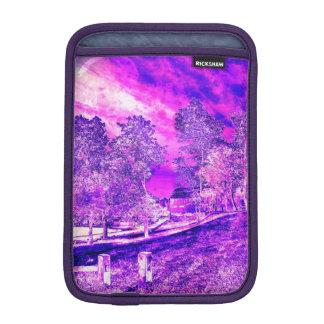 Purple N Pink Rural Landscape iPad Mini Sleeve