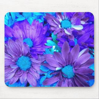 Purple N Turquiose Bouquet MousePad